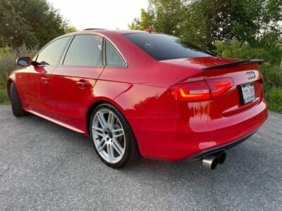 2013 Audi A4 RARE RED A4 2.0 T S LINE PREMIUM PLUS WITH NAVIGATION!